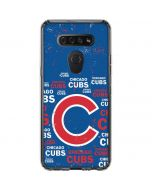 Chicago Cubs -Cap Logo Blast LG K51/Q51 Clear Case