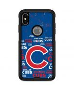 Chicago Cubs -Cap Logo Blast Otterbox Commuter iPhone Skin