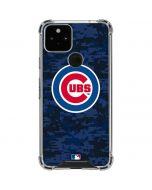 Chicago Cubs Digi Camo Google Pixel 5 Clear Case