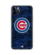 Chicago Cubs Digi Camo iPhone 11 Pro Max Skin