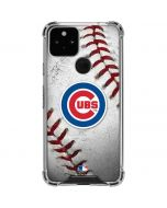 Chicago Cubs Game Ball Google Pixel 5 Clear Case