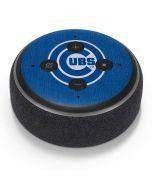 Chicago Cubs Monotone Amazon Echo Dot Skin