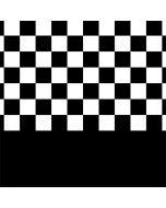 Checkerboard Split LifeProof Nuud iPhone Skin