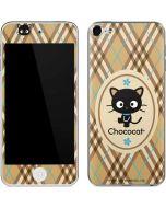 Chococat Brown and Blue Plaid Apple iPod Skin