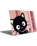 Chococat Pink and Brown Stripes Apple MacBook Air Skin