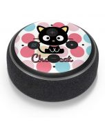 Chococat Pink Circles Amazon Echo Dot Skin