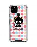 Chococat Pink Circles Google Pixel 5 Clear Case