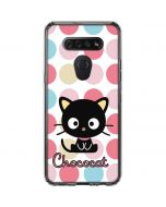 Chococat Pink Circles LG K51/Q51 Clear Case
