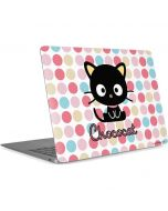 Chococat Pink Circles Apple MacBook Air Skin