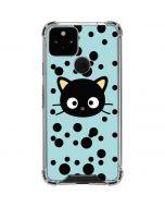 Chococat Teal Google Pixel 5 Clear Case