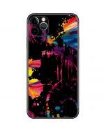 Chromatic Splatter Black iPhone 11 Pro Max Skin
