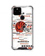 Cincinnati Bengals - Blast Google Pixel 5 Clear Case