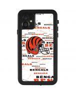 Cincinnati Bengals - Blast iPhone 11 Waterproof Case