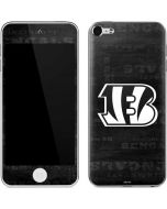 Cincinnati Bengals Black & White Apple iPod Skin