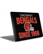 Cincinnati Bengals Helmet Apple MacBook Air Skin