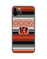 Cincinnati Bengals Trailblazer iPhone 11 Pro Max Skin