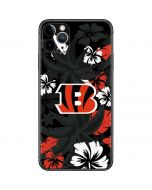Cincinnati Bengals Tropical Print iPhone 11 Pro Max Skin
