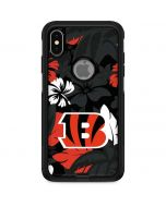 Cincinnati Bengals Tropical Print Otterbox Commuter iPhone Skin