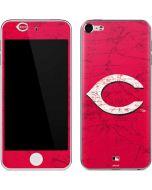 Cincinnati Reds - Solid Distressed Apple iPod Skin