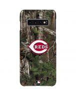 Cincinnati Reds Realtree Xtra Green Camo Galaxy S10 Plus Lite Case