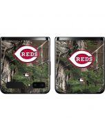Cincinnati Reds Realtree Xtra Green Camo Galaxy Z Flip Skin