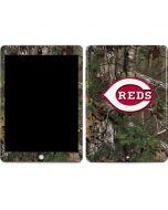 Cincinnati Reds Realtree Xtra Green Camo Apple iPad Skin