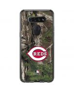 Cincinnati Reds Realtree Xtra Green Camo LG K51/Q51 Clear Case