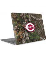 Cincinnati Reds Realtree Xtra Green Camo Apple MacBook Air Skin