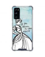 Cinderella Shoe Will Fit Galaxy S20 FE Clear Case