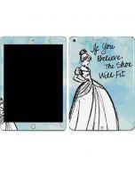 Cinderella Shoe Will Fit Apple iPad Skin