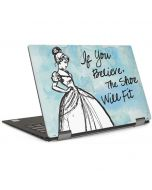 Cinderella Shoe Will Fit Dell XPS Skin