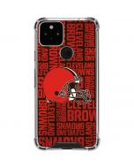 Cleveland Browns - Blast Google Pixel 5 Clear Case