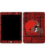 Cleveland Browns - Blast Apple iPad Skin