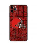 Cleveland Browns - Blast iPhone 11 Pro Max Skin