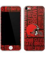 Cleveland Browns - Blast Apple iPod Skin