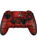 Cleveland Browns - Blast PlayStation Scuf Vantage 2 Controller Skin