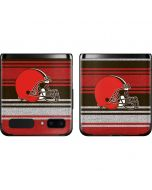 Cleveland Browns Trailblazer Galaxy Z Flip Skin