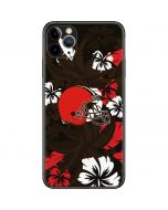Cleveland Browns Tropical Print iPhone 11 Pro Max Skin