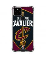 Cleveland Cavaliers Large Logo Google Pixel 5 Clear Case