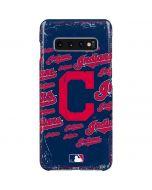 Cleveland Indians - Cap Logo Blast Galaxy S10 Plus Lite Case