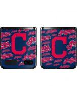 Cleveland Indians - Cap Logo Blast Galaxy Z Flip Skin