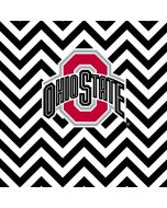 Ohio State Chevron Print Galaxy S6 Skin
