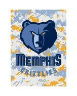 Memphis Grizzlies Digi Camo Xbox One Console Skin