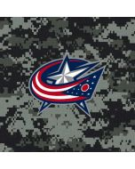Columbus Blue Jackets Camo Xbox One Console Skin