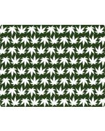 Marijuana Leaf White Pattern iPhone XS Max Cargo Case