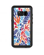Color Foliage Galaxy S8 Plus Waterproof Case