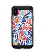 Color Foliage iPhone X Cargo Case