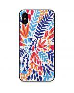 Color Foliage iPhone X Skin