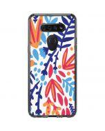 Color Foliage LG K51/Q51 Clear Case