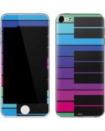 Color Piano Keys Apple iPod Skin